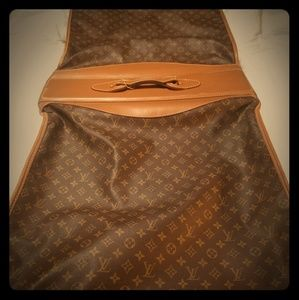 LV Vintage Collective Garment Bag.